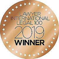Lawyer International Legal 100 Winner 2019
