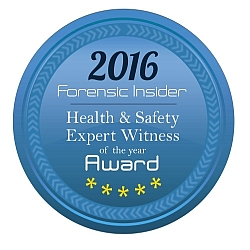 Foresnsic Insider - Health and Safety Expert Witness of the Year Award 2016