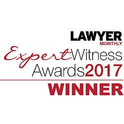 Winner - Lawyer Monthly Expert Witness Awards 2017